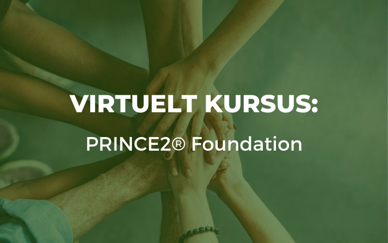 PRINCE2® Foundation virtuelt kursus